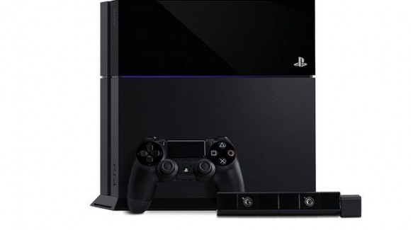 PS4 with controller and camera-580-90