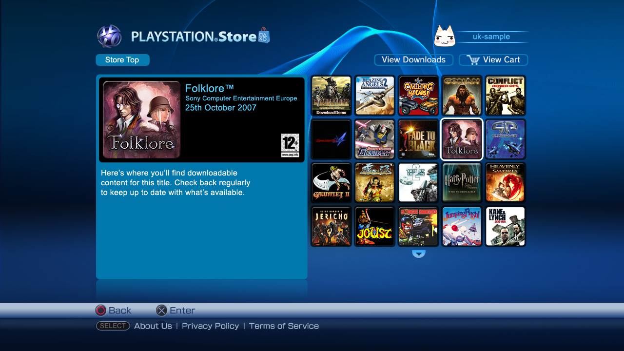 Store playstation