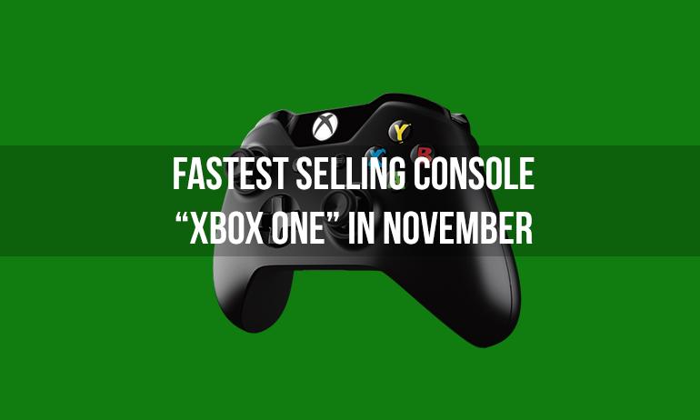 fastest selling xbox one november game rekon india