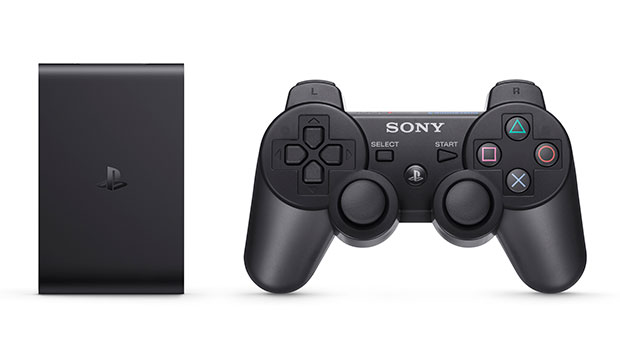 Bundled with a Dualshock controller