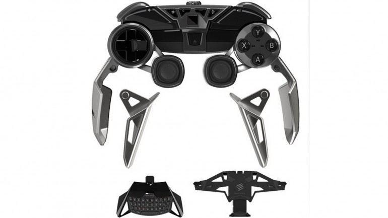 The Mad Catz L.Y.N.X. 9 gamepad controller